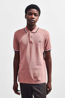 Fred Perry Twin Tipped Pique Polo Shirt