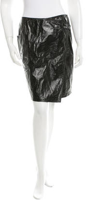 Boy. by Band of Outsiders Leather Mini Skirt $75 thestylecure.com