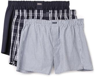 Calvin Klein Underwear 3 Pack Woven Boxers $39.50 thestylecure.com
