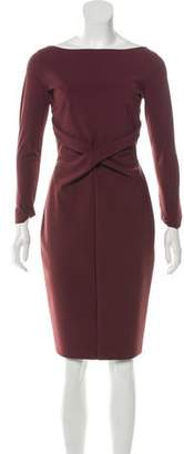 Chiara Boni Long Sleeve Knee-Length Dress w/ Tags