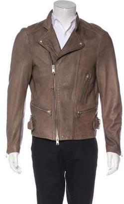 AllSaints Gibson Leather Jacket