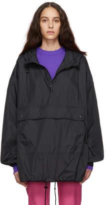 Calvin Klein Jeans Est. 1978 Black Logo Anorak Jacket