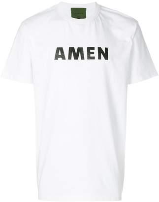 Amen logo T-shirt