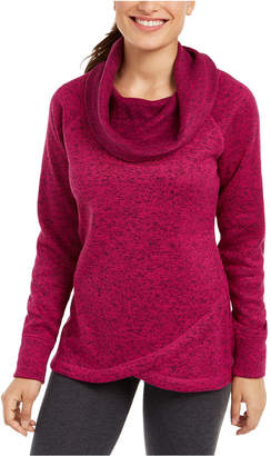 Ideology Cowl-Neck Pullover