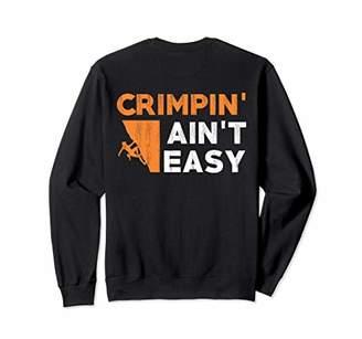 Rock Climbing Crimping Bouldering Holds Gift Sweatshirt