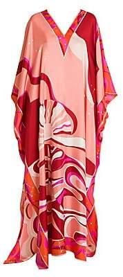 Emilio Pucci Women's Copacabana Silk Twill Caftan