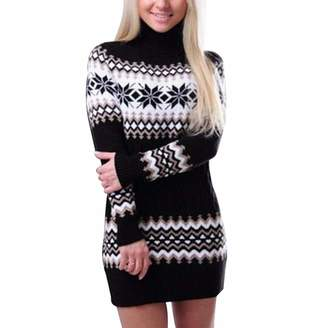 ddf50d695f5e PANEW Sweater Winter Sweater Pullover Female Long Patchwork