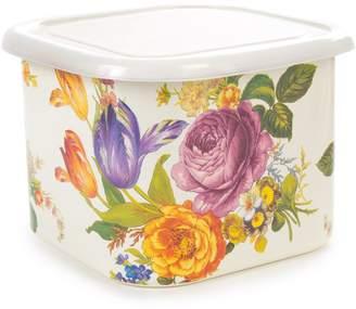 Mackenzie Childs Flower Market Large Storage Container