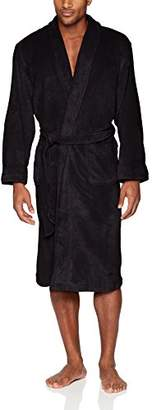 Izod Men's Comfort Fleece Shawl Collar Robe