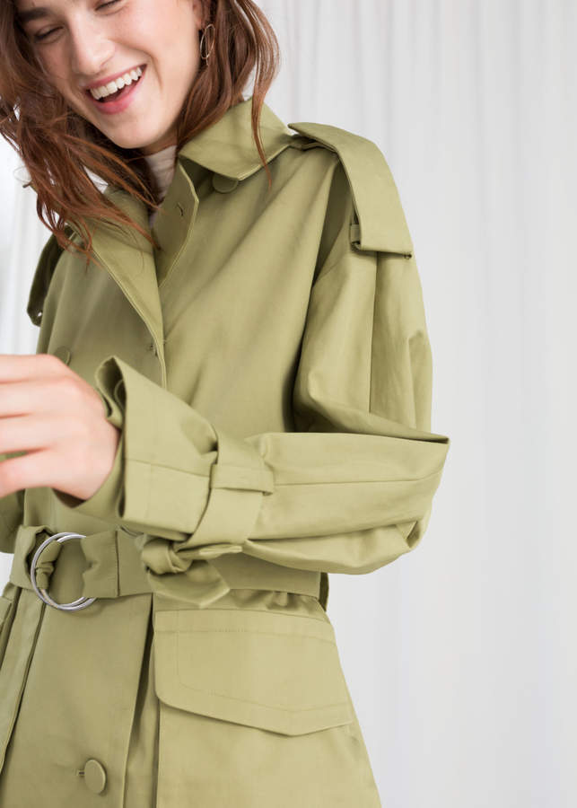 Oversized Belted Trenchcoat