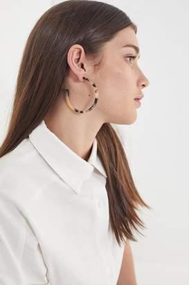 Urban Outfitters Tatum Tortoise Hoop Earring