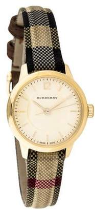 Burberry Swiss Honey Check Watch yellow Swiss Honey Check Watch