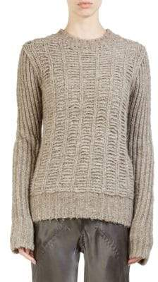 Rick Owens Knit Wool Sweater