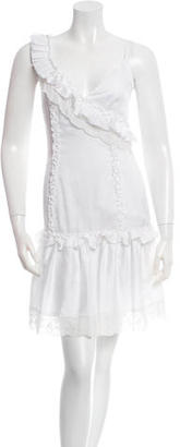 Alice by Temperley Irina Ruffle-Trimmed Dress w/ Tags $85 thestylecure.com