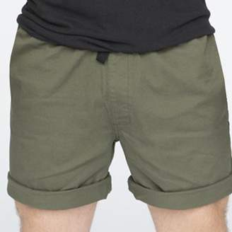 "Blade + Blue The ""Paradise"" Stretch Twill Short in Olive Green"