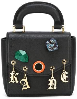 Christopher Kane Bonnie stone charm shoulder bag