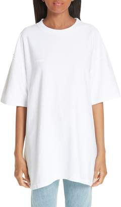 Vetements Oversized Inside Out Tee