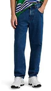 Martine Rose Napa by Men's Straight Jeans - Md. Blue