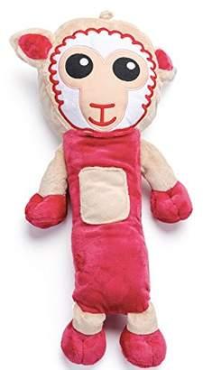 Camilla And Marc Stuffed Animal Seat Belt Seatbelt Pads Kids - Surcingle Protector 55 cm and Soft - Emma Shoulder Pad, Shoulder Strap, Belt, Strap, Infant Car Seat (Sheep)