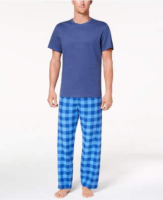 Club Room Men's Buffalo Plaid Pajama Set