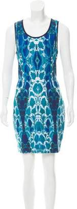 Alberto Makali Printed Mini Dress