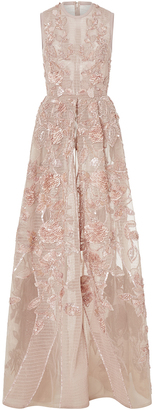 Elie Saab Embroidered A-Line Gown $15,950 thestylecure.com