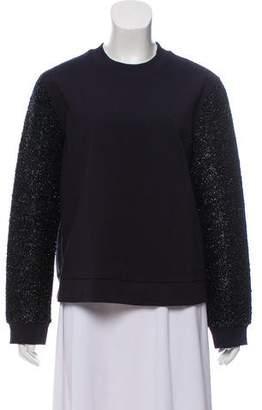 Tory Burch Embellished Long Sleeve Sweatshirt w/ Tags