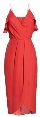 Chelsea28 Ruffle Tulip Hem Dress