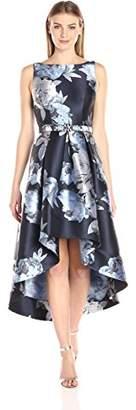 Eliza J Women's Sleeveless Floral High-Low Hem Dress