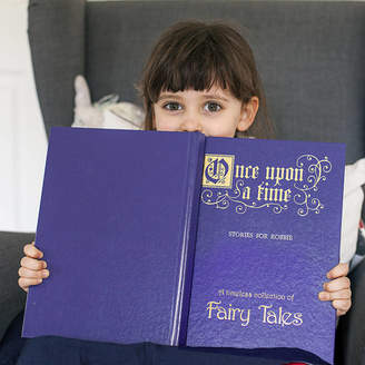 Jonny's Sister Personalised Deluxe Edition Book Of Fairy Tales