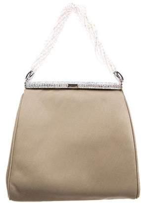 Judith Leiber Crystal-Embellished Beaded Strap Evening Bag
