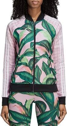 adidas Palm-Print Track Jacket