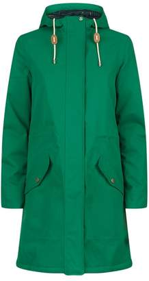 Barbour Whitford Longline Hooded Coat