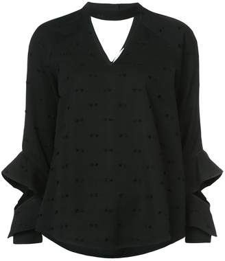 Kimora Lee Simmons Kai blouse