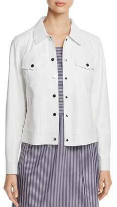 Lafayette 148 New York Destiny Leather Jacket - 100% Exclusive