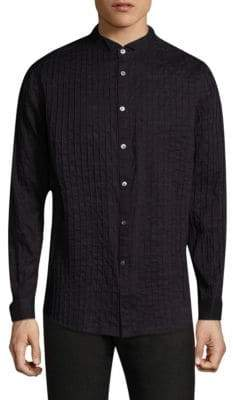 John Varvatos Antique Relaxed-Fit Button-Down Shirt