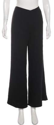 Ralph Lauren Black Label Silk Wide-Leg Pants