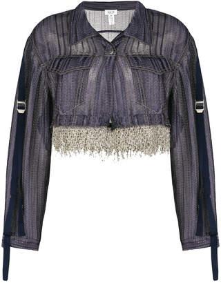 Aviu cropped tassel jacket