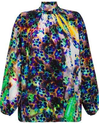 Prada Marocain print blouse