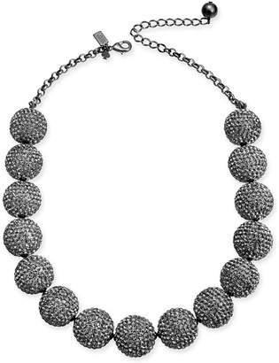 "Kate Spade Pavé Orb Collar Necklace, 18"" + 3"" extender"