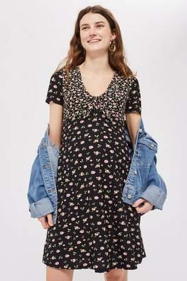 Topshop **Maternity Floral Tea Dress