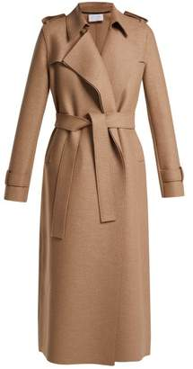 Harris Wharf London Layered Wool Trench Coat - Womens - Beige