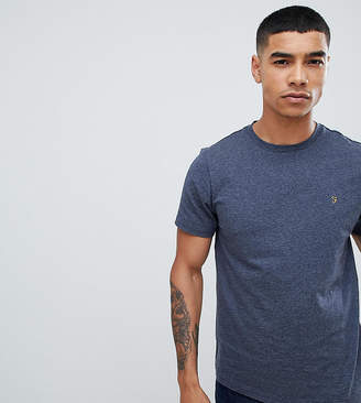Farah Gloor slim fit marl t-shirt in gray Exclusive at ASOS
