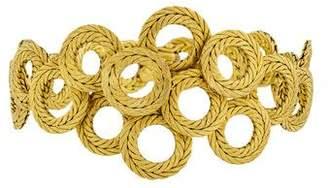 Buccellati 18K Rope Circles Bracelet
