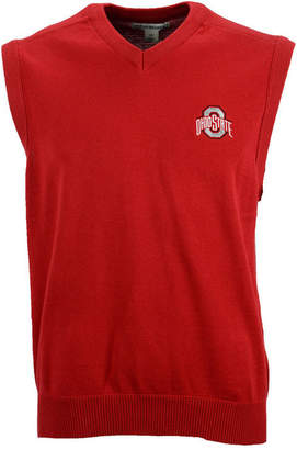 Cutter & Buck Men Ohio State Buckeyes Broadview Sweater Vest