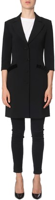 Moschino Jacket Dress With Rouches