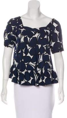 Diane von Furstenberg Silk Edith Top