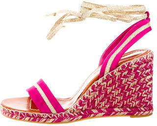 Marc JacobsMarc Jacobs Raso Seta Wedge Sandals