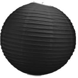 Camilla And Marc Skylantern Original 1813 Paper Ball Lantern Black 30 cm