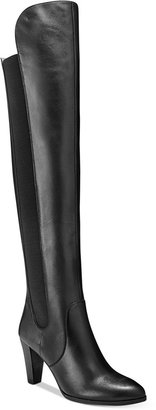 Adrienne Vittadini Tex Over-The-Knee Boots $249 thestylecure.com